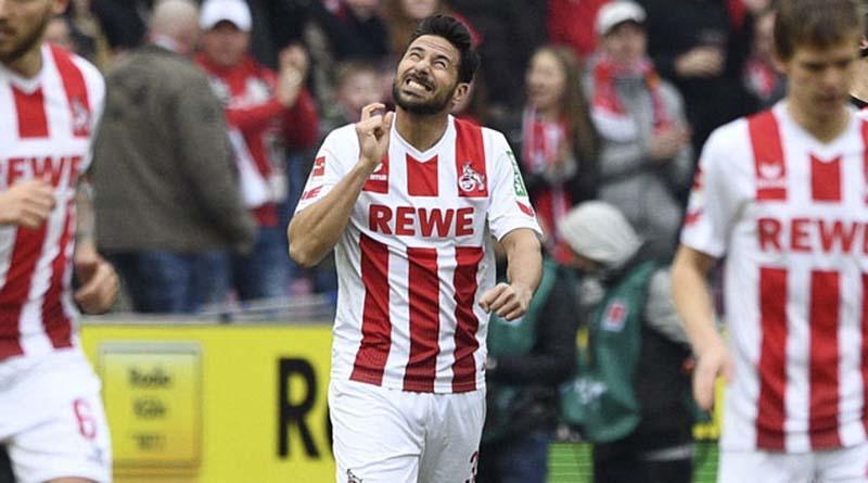 Claudio Pizarro: Marcó su primer gol por Colonia en Bundesliga