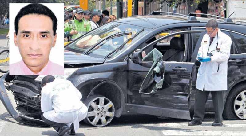 Delincuente fue abatido tras balacera en Surco