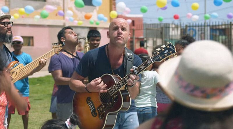 Gian Marco grabó videoclip de «Sácala a Bailar» en el Callao