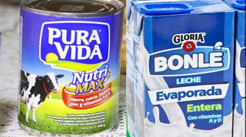 Gloria y Nestlé reciben multa por  engañar con 'leche' al  consumidor