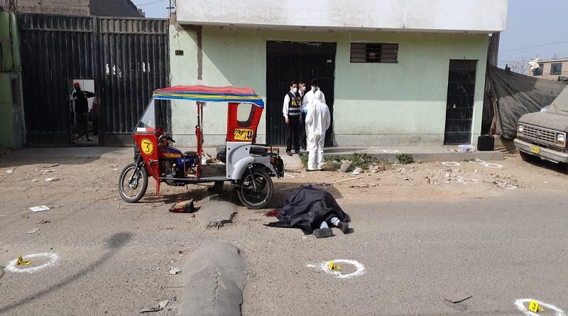 Delincuente es abatido tras enfrentamiento a balazos con la policía