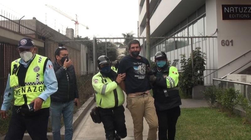Ladrón de bicicletas escapó de patrullero pero fue recapturado por serenos