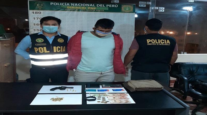 Policía captura a sujeto acusado de balear a tres fiscalizadores de Santa Anita