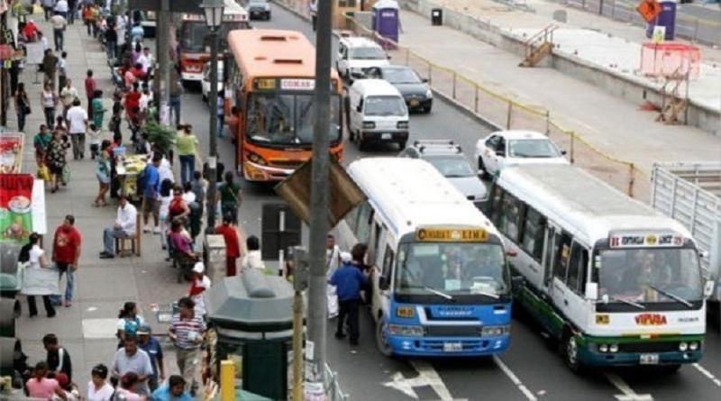 Transportistas anuncian paralización para el jueves 3 de setiembre