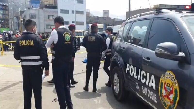 La Victoria: sicarios asesinan mototaxista de varios balazos