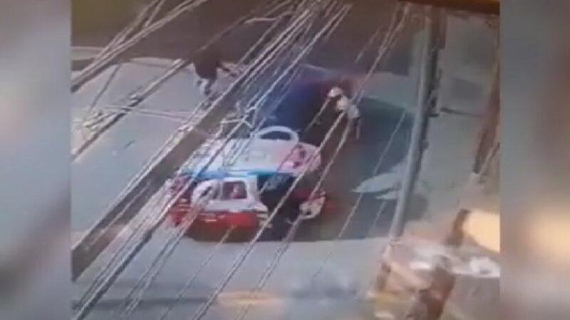 Comas: mujer embiste mototaxi de ladrones para evitar ser asaltada