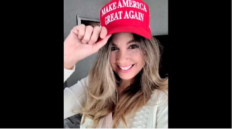 Estados Unidos: Jessica Tapia le dio su voto a Donald Trump [FOTO]