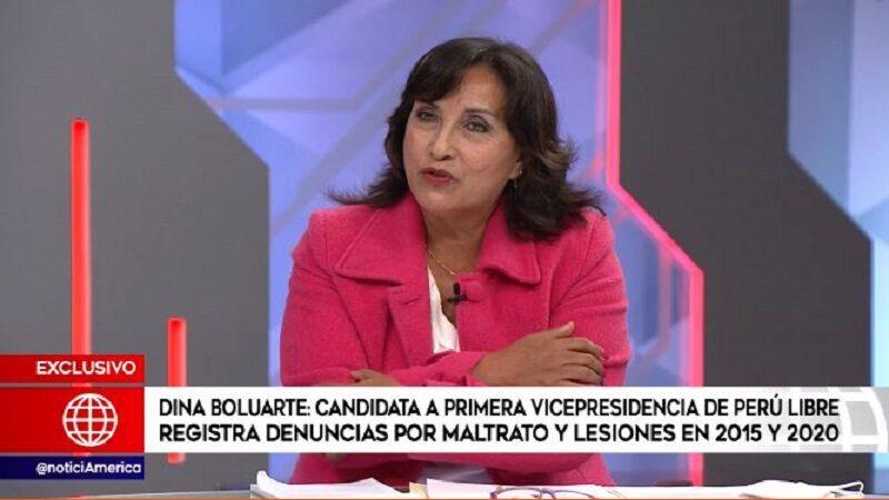 Dina Boluarte: Presenta denuncias de maltrato y lesiones en los años 2015 y 2020