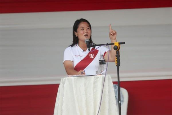 Keiko Fujimori: Modelo económico de su plan de gobierno la hace favorita según demás partidos políticos