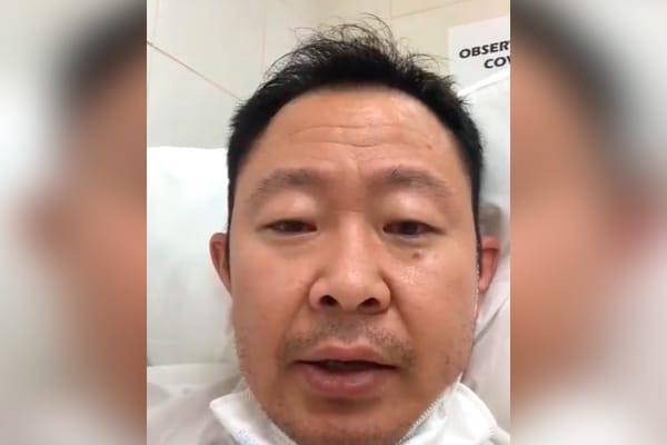 Kenji Fujimori internado tras contraer la COVID-19