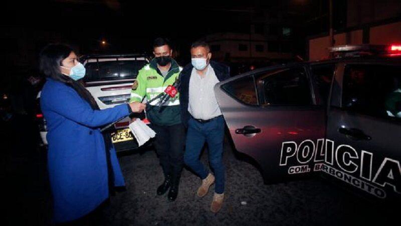 SMP: Hombre en estado de ebriedad disparó a taxista