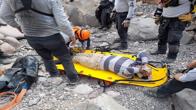Tacna: Geólogo desaparecido fue encontrado por efectivos policiales