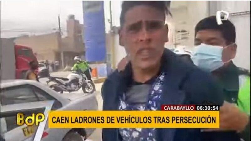 Carabayllo: Detienen a banda conformada por extranjeros que se dedicaban a desmantelar autos