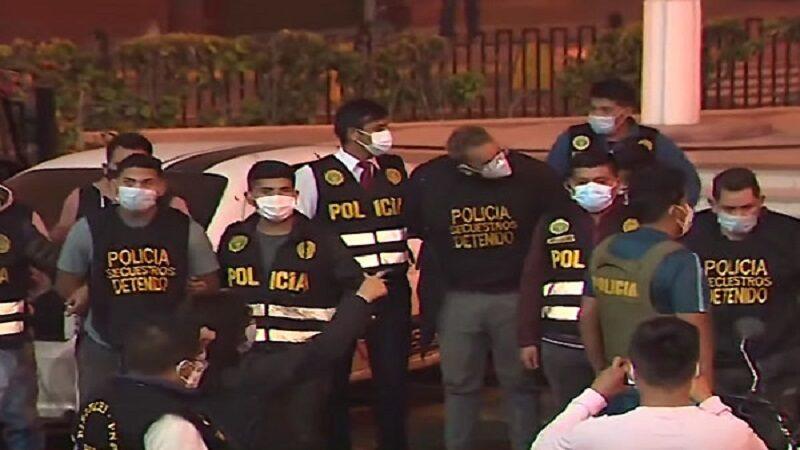 SJM: Policía Nacional capturó a los secuestradores de menor de 13 años
