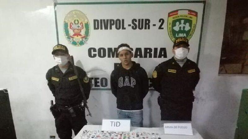 Chorrillos: Capturan a «Kalimba» en medio de balazos tras asaltar a 10 personas en 4 días