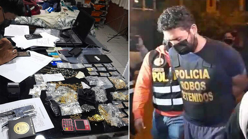 """PNP: Captura a banda criminal """"Los injertos del llauca"""" y allanan sus viviendas"""