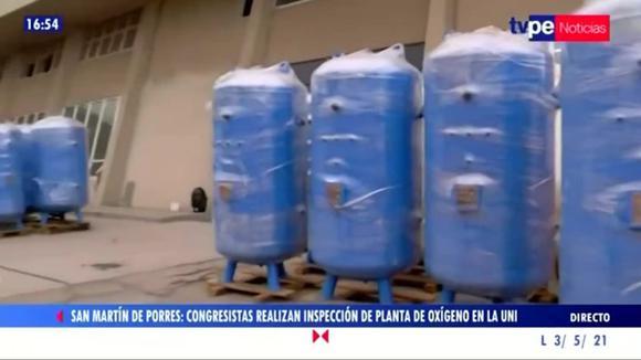 UNI: No entregará plantas de oxígeno tras negación de contrato por parte del MINSA