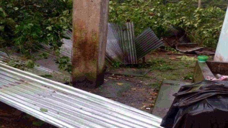 Madre de Dios: 120 familias quedan sin hogar y sin cultivos tras fuertes vientos lluvias torrenciales