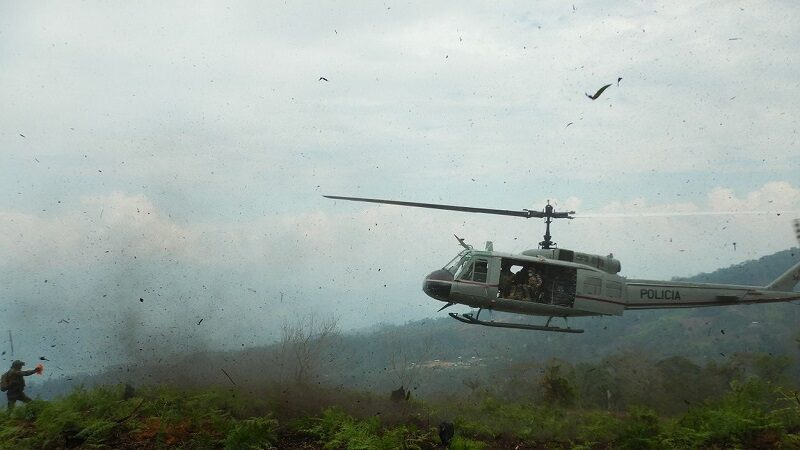 Puno: Encuentran cuerpos sin vida de cinco policías que viajaban en helicóptero accidentado