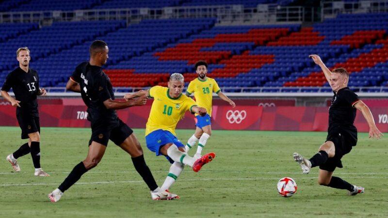 Brasil y México se pasean en el arranque del fútbol de los JJ.OO
