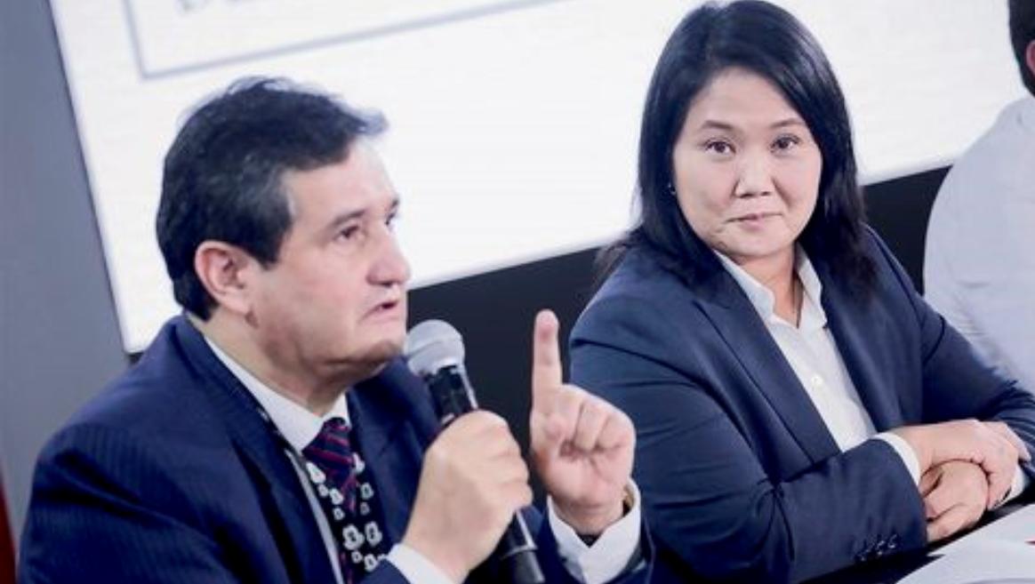Fuerza Popular no interpondrá acción judicial contra proclamación del JNE