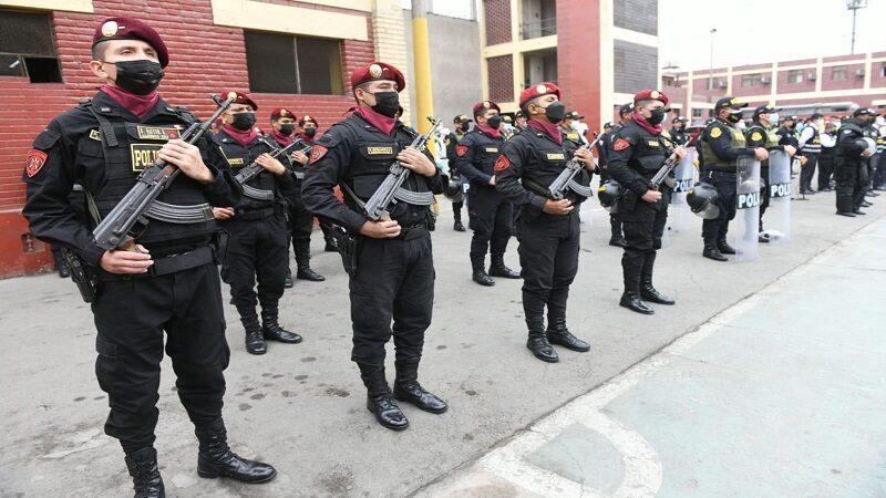 PNP desarticuló más de mil bandas delictivas y 61 organizaciones criminales