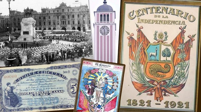 ¿Cómo celebró el Perú la fiesta del Centenario de la Independencia?