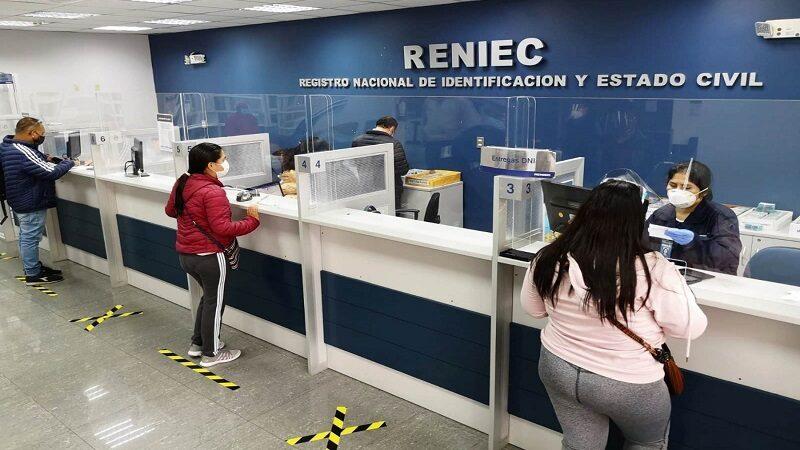 Reniec: ciudadanos recogerán su DNI sin previa cita desde el lunes 12 de julio