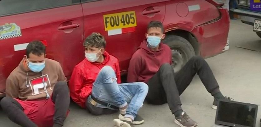 Los Olivos: Caen dos venezolanos y un taxista peruano en frustrado asalto