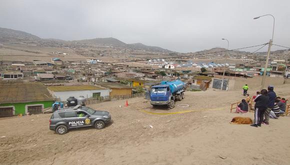 Sicarios asesinan a balazos a aguatero que se negó a pagar cupos