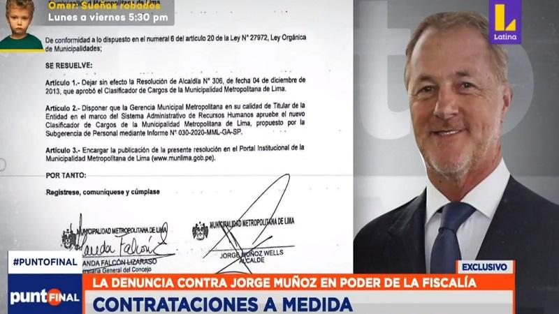 Alcalde de Lima contrató a funcionarios que no tienen estudios profesionales