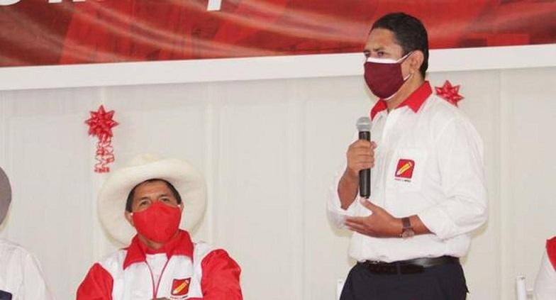 Denuncian a Cerrón y a su entorno por presunta extorsión contra Castillo