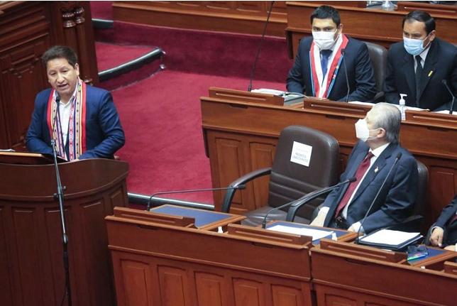 Congreso otorga el voto de confianza al gabinete que lidera Guido Bellido