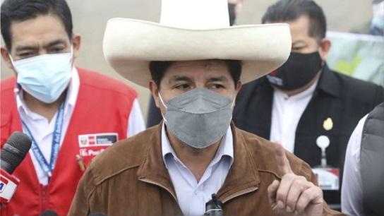 """Pedro Castillo: «Habrá sorpresas con precio del gas y los alimentos"""""""