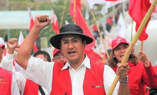 Cerrón convoca a una 'movilización nacional' de apoyo al gabinete Bellido
