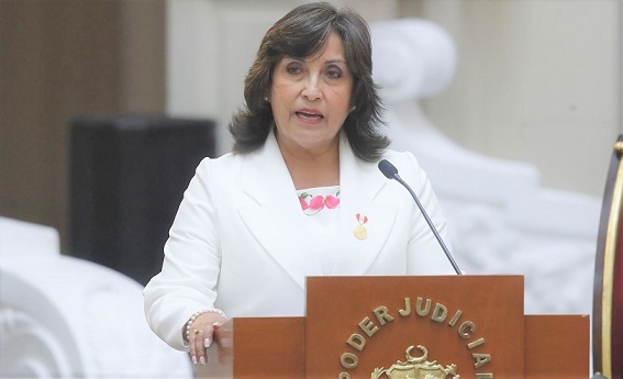 Dina Boluarte: «Pedimos al Congreso el voto de confianza para trabajar»