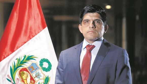 Ministro de Interior expresa su respaldo a FF.AA. y a la Policía Nacional