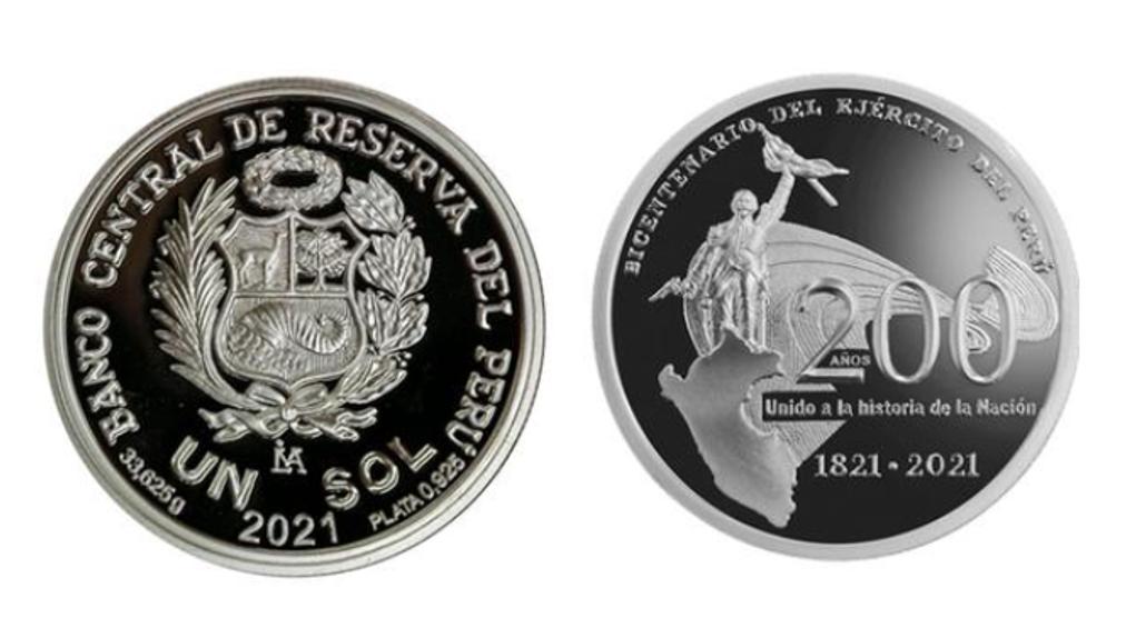 Banco de Reserva pone en circulación moneda conmemorativa de un sol
