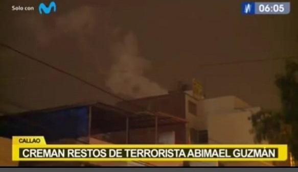Restos del cabecilla terrorista Abimael Guzmán fueron cremados
