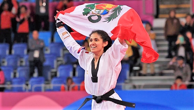 Angélica Espinoza ganó medalla de oro en Para taekwondo en Tokio 2020