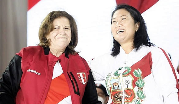 Keiko propone a Flores Nano como candidata a la alcaldía de Lima