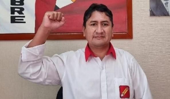 Perú Libre: anuncian candidatura de Cerrón para comicios de 2026