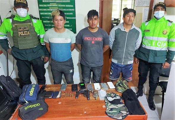 Huaura: capturan a tres peligrosos asaltantes de buses interprovinciales