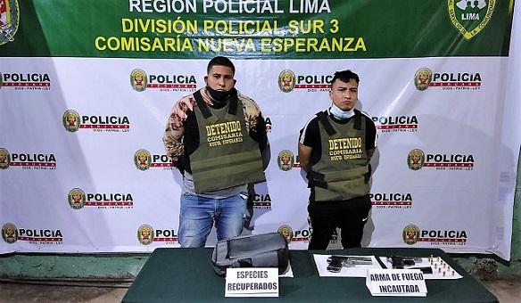 VES: Policía atrapa a delincuentes que pretendían asaltar barbería