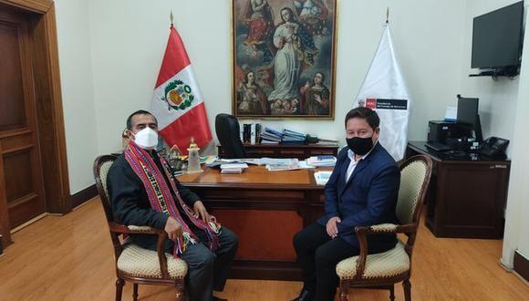 Presentan moción de interpelación en contra del ministro Iber Maraví