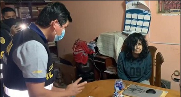 Detienen a 'monstruo' que captaba niñas por 'Face' para abusar de ellas