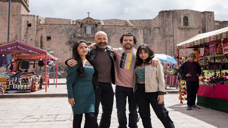 Cusco: Mayella Lloclla arranca suspiros en grabaciones de «La reina del sur 3»