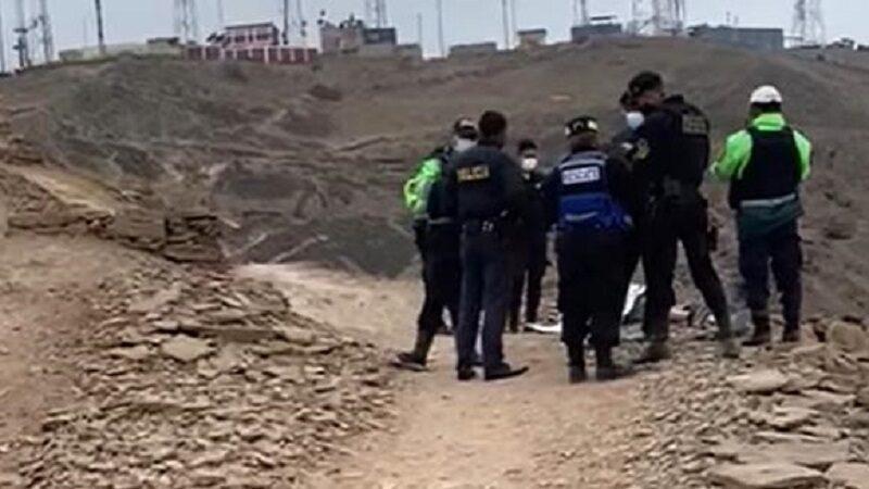 Ciclista sufre accidente fatal delante de su hijo en Morro Solar