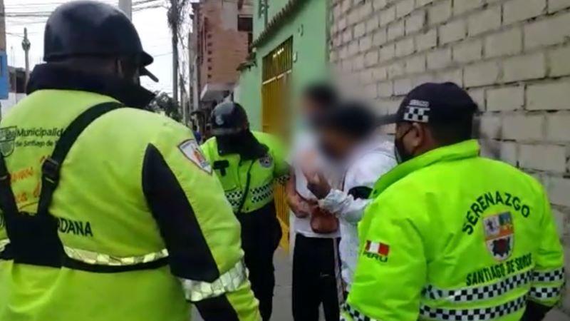 Adolescentes robaban en mototaxi cerca de sus casas