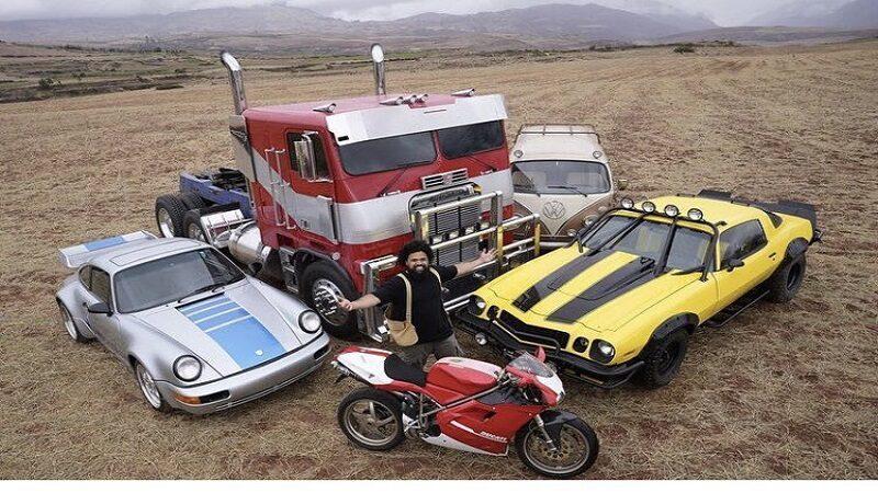 Cusco: Optimus Prime, Bumblebee y Mirage se preparan para correr en la carretera
